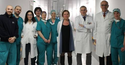 Primo trapianto combinato in Italia di polmoni e fegato su paziente pediatrico
