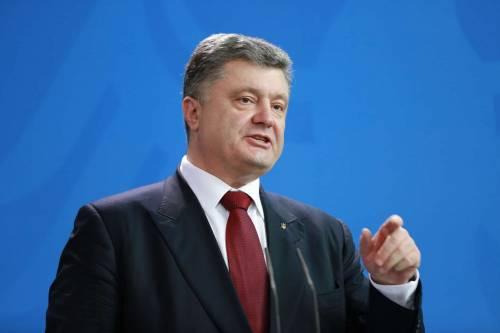 """Poroshenko: """"Nel 2024 l'Ucraina farà domanda di adesione all'Ue"""""""