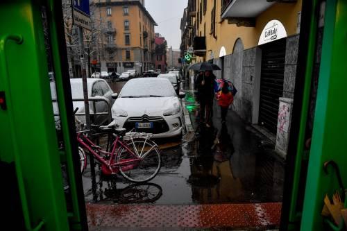 Arriva il maltempo: ecco la città di Milano imbiancata  9
