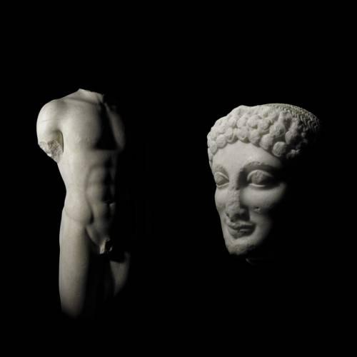 """Il Kouros ritrovato l'""""uomo nuovo"""" di Sicilia"""