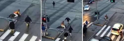Milano, choc in strada: nordafricano accoltellato in mezzo ai passanti terrorizzati