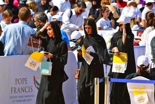 La Messa di papa Francesco negli Emirati 2