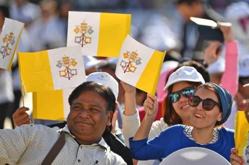 La Messa di papa Francesco negli Emirati 4