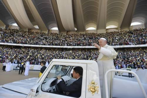 La Messa di papa Francesco negli Emirati 5