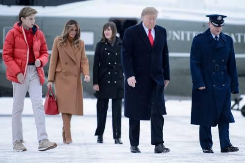 Melania Trump: al fianco del marito dopo 39 giorni di silenzio  4
