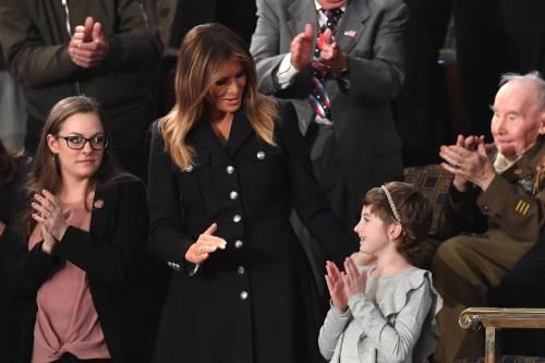 Melania Trump: al fianco del marito dopo 39 giorni di silenzio  8