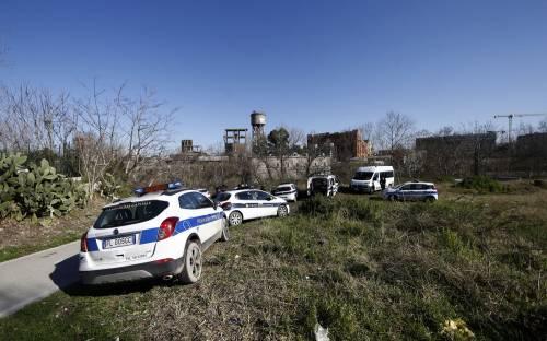 Roma, i vigili sgomberano una baraccopoli abusiva a Ponte Marconi 3