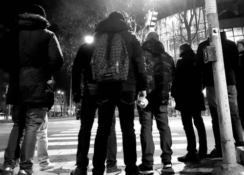 I volantini anti immigrati di Fn 5