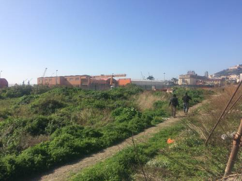 Napoli, nel parco della Marinella: tra rifiuti, tossicodipendenti e disperati 2