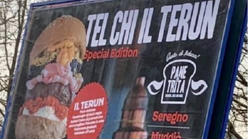 """È polemica a Napoli per il panino lombardo """"Il terun"""""""