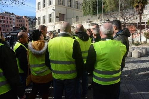 I gilet gialli sbarcano a Sanremo 2