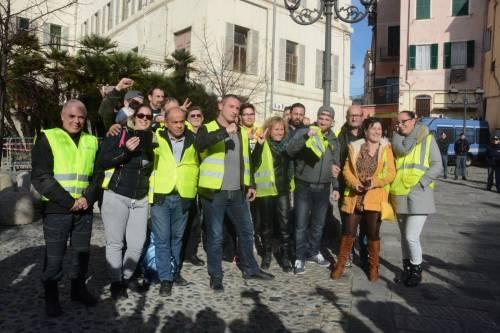 I gilet gialli sbarcano a Sanremo 3