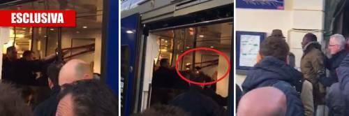 Agenti francesi sul treno Spruzzano spray urticante per «stanare» i migranti
