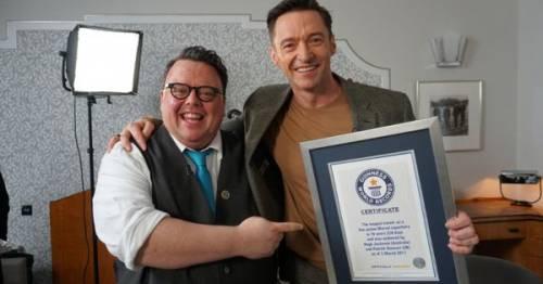 Hugh Jackman e Patrick Stewart entrano nel Guinness dei Record
