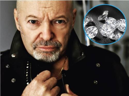 Diamanti, Vasco truffato: