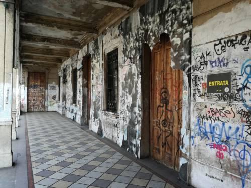 """Milano, il """"tour"""" dei centri sociali 4"""