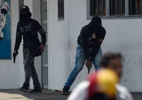 Scontri  al confine fra Venezuela e Colombia 3
