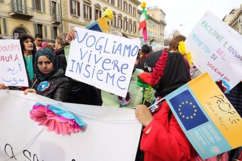 """Milano, le immagini della manifestazione """"People, prima le persone"""" 4"""