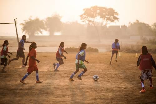 Così il calcio salva centinaia di bimbe da analfabetismo e nozze combinate