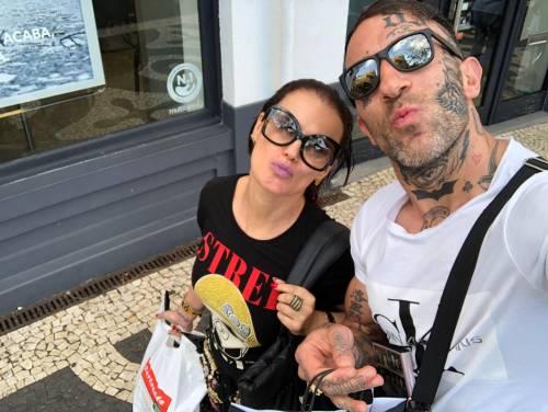Simone Coccia Colaiuta beccato con la sorella di Ronaldo 2