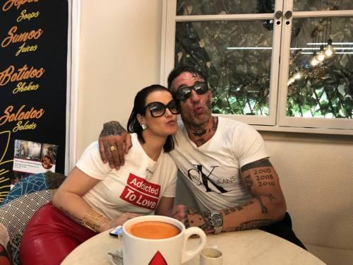 Simone Coccia Colaiuta beccato con la sorella di Ronaldo 1