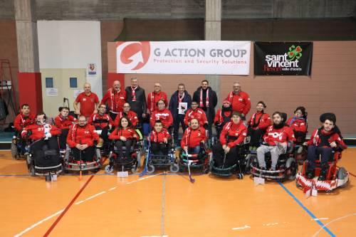 G Action Group di Adriele Guarneri e Sharks Monza insieme verso la vittoria