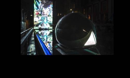 Leonardo e la forma dell'acqua, installazione evento alla Conca dell'Incoronata