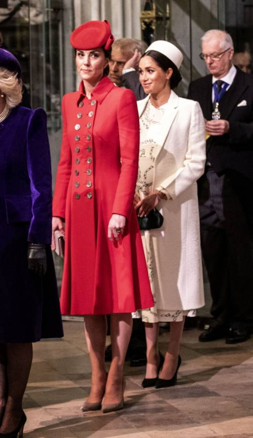 Kate Middleton e Meghan Markle, le foto delle duchesse 5