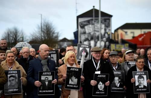 Per la prima volta un soldato britannico è incriminato per la strage del Bloody Sunday