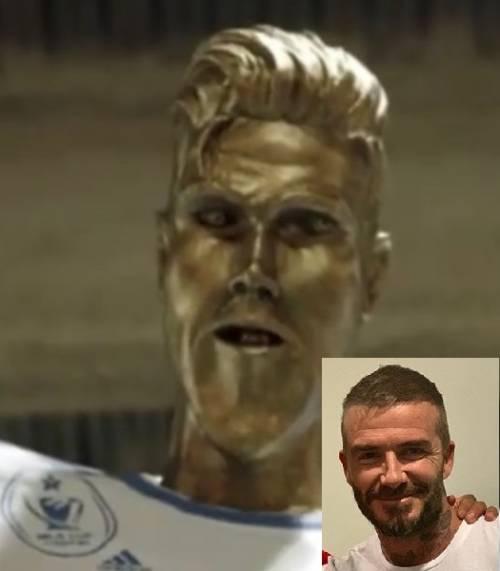 Il premio imbarazzante di David Beckham