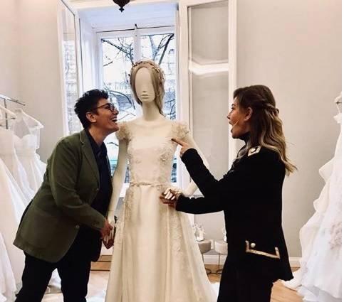 Eva Grimaldi e le sue future nozze con Imma