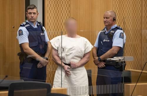 """Nuova Zelanda, il ghigno del killer. Quello """"schiaffo"""" alle 49 vittime"""