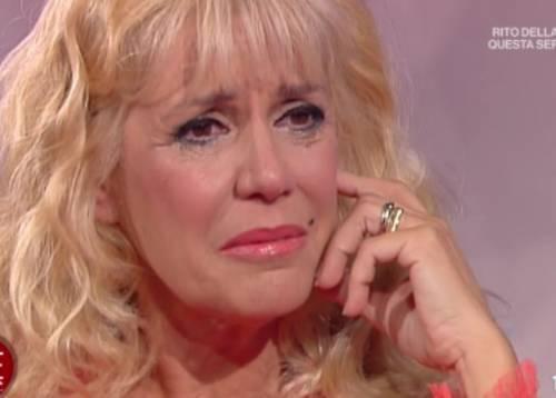 Lacrime per Maria Teresa Ruta in diretta: Non merito i figli che ho