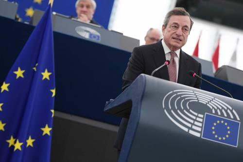 """Eurozona, Draghi rilancia: """"Serve un'unione fiscale"""""""