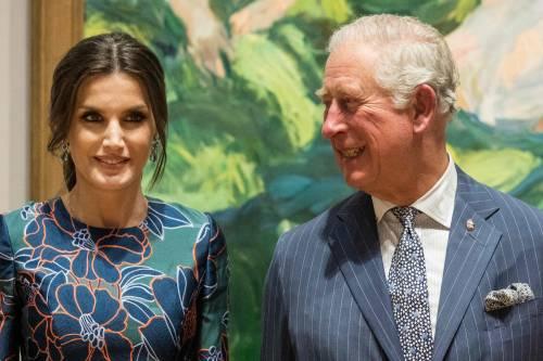 Il Principe Carlo: mostra alla National Gallery con Letizia di Spagna  3