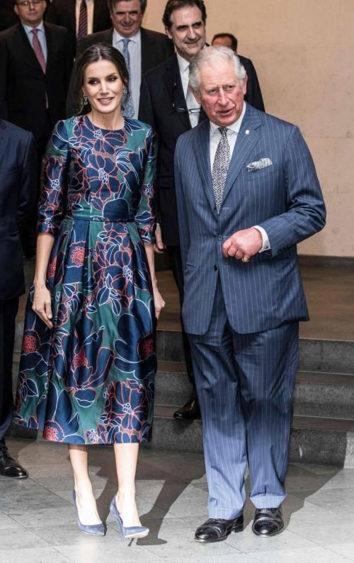 Il Principe Carlo: mostra alla National Gallery con Letizia di Spagna  4