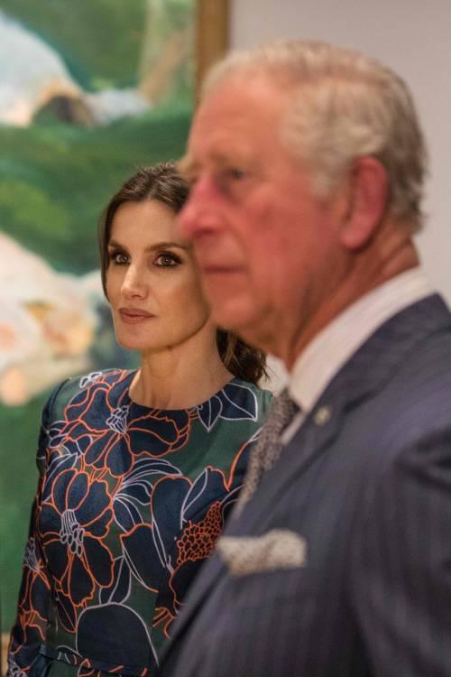 Il Principe Carlo: mostra alla National Gallery con Letizia di Spagna  6