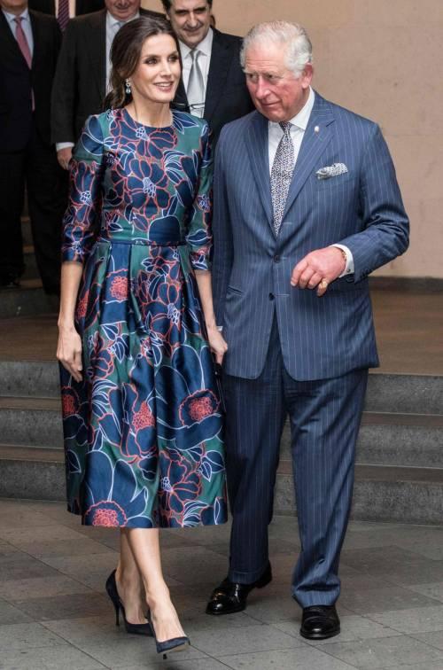 Il Principe Carlo: mostra alla National Gallery con Letizia di Spagna  7