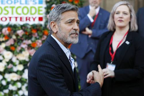 George Clooney e Amal: red carpet nel cuore di Edimburgo  6