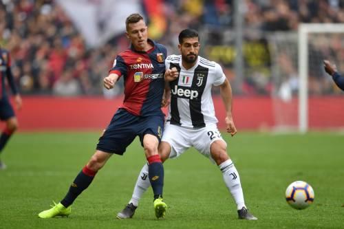 La Juventus cade contro il Genoa 2-0: prima sconfitta in campionato