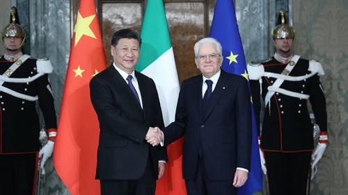 Viaggio di Xi in Italia: tra le due antiche civiltà brillano nuove scintille