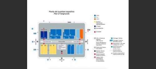 Tutti i numeri dei Saloni e la mappa dei padiglioni