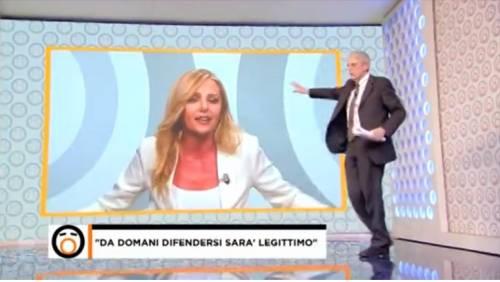 """Giordano e Costamagna litigano in televisione: """"Se mi chiudi l'audio…"""""""