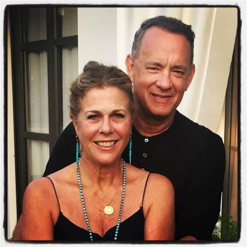 Tom Hanks e sua moglie Rita positivi al Coronavirus