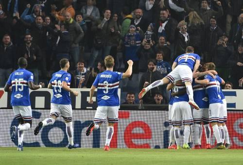 La Sampdoria manda al tappeto il Milan: 1-0 siglato Defrel