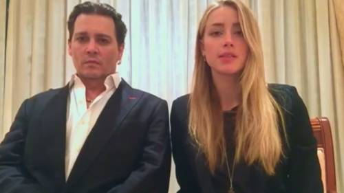 Amber Heard rischia 3 anni di prigione per aver falsificato