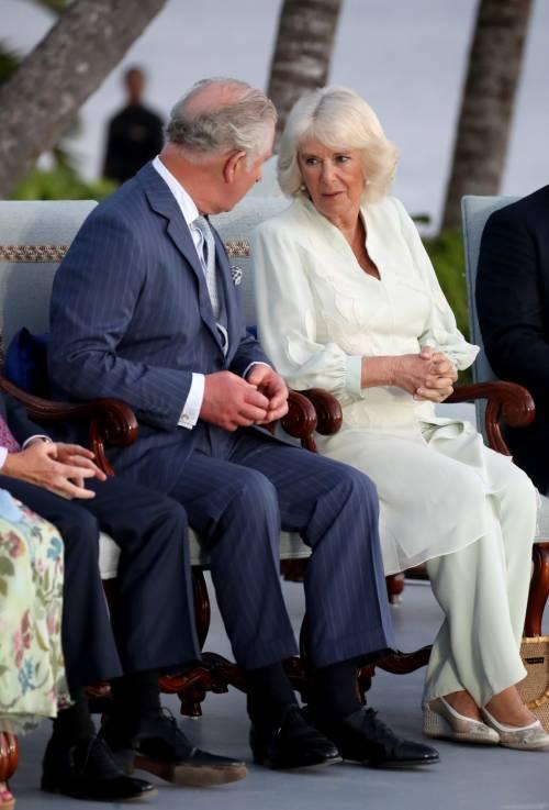 Camilla Parker Bowles e il Principe Carlo: le foto nei Caraibi 3