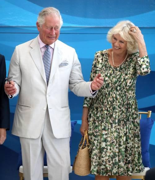 Camilla Parker Bowles e il Principe Carlo: le foto nei Caraibi 6