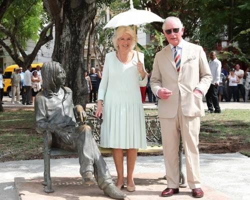 Camilla Parker Bowles e il Principe Carlo: le foto nei Caraibi 8