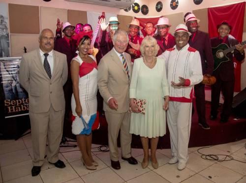 Camilla Parker Bowles e il Principe Carlo: le foto nei Caraibi 10